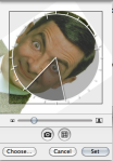 Rotating User Images in Selection Window